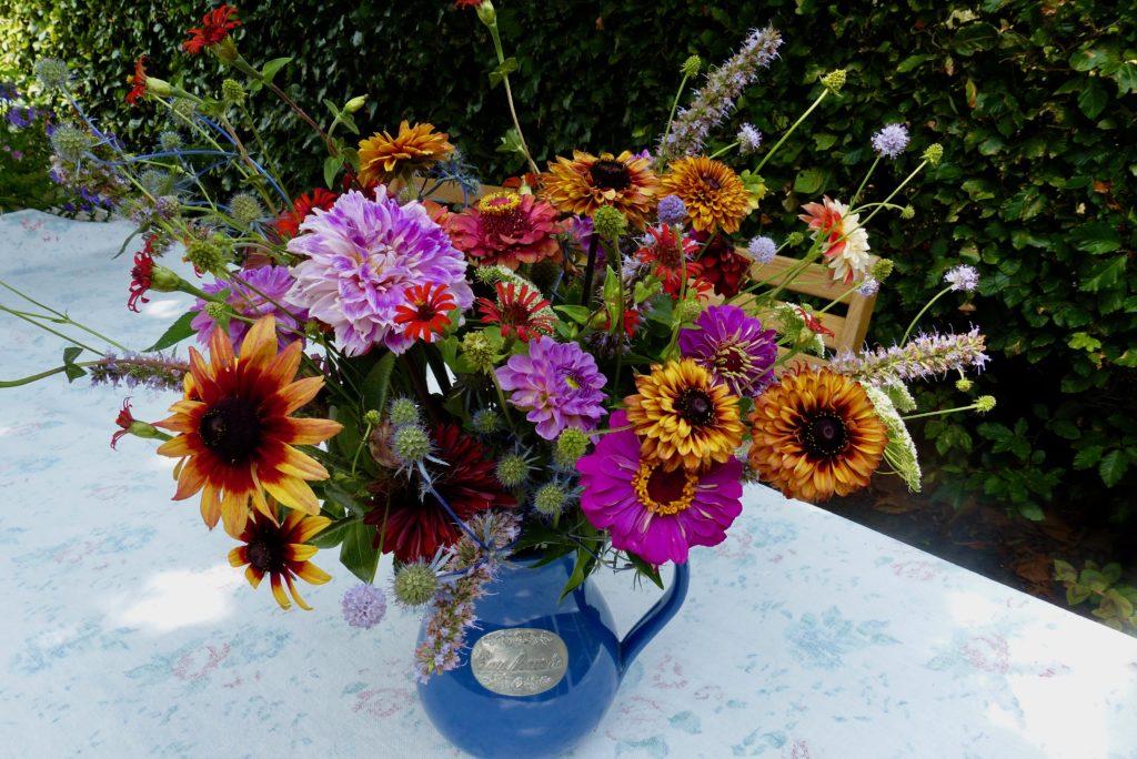 landelijk bouquet, plukbloemen