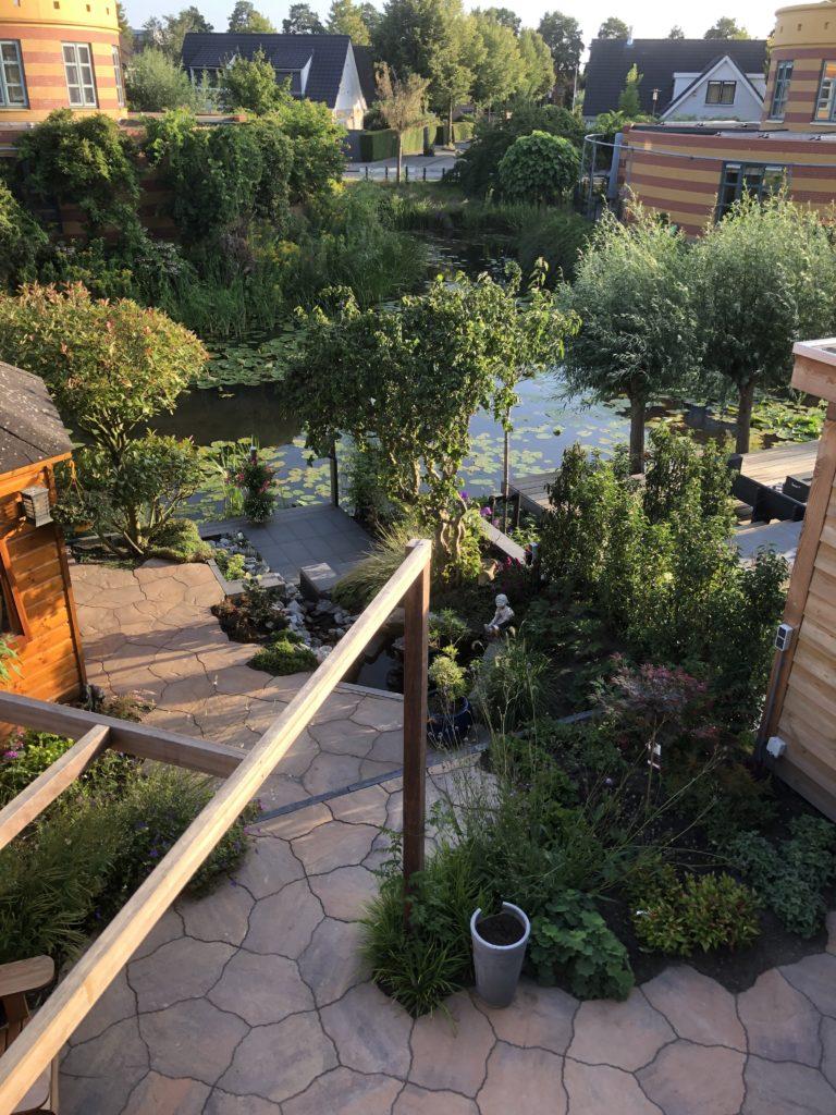 overzicht tuin Amersfoort