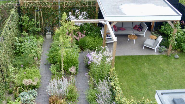 overzicht natuurlijke tuin
