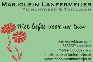 Visitekaartje Marjolein Lanfermeijer